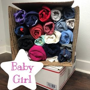 Mystery Box 20 Baby Girl Size Newborn-24 Months